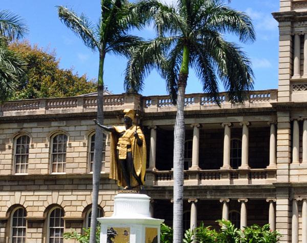 The Lolani Palace Oahu, Hawaii